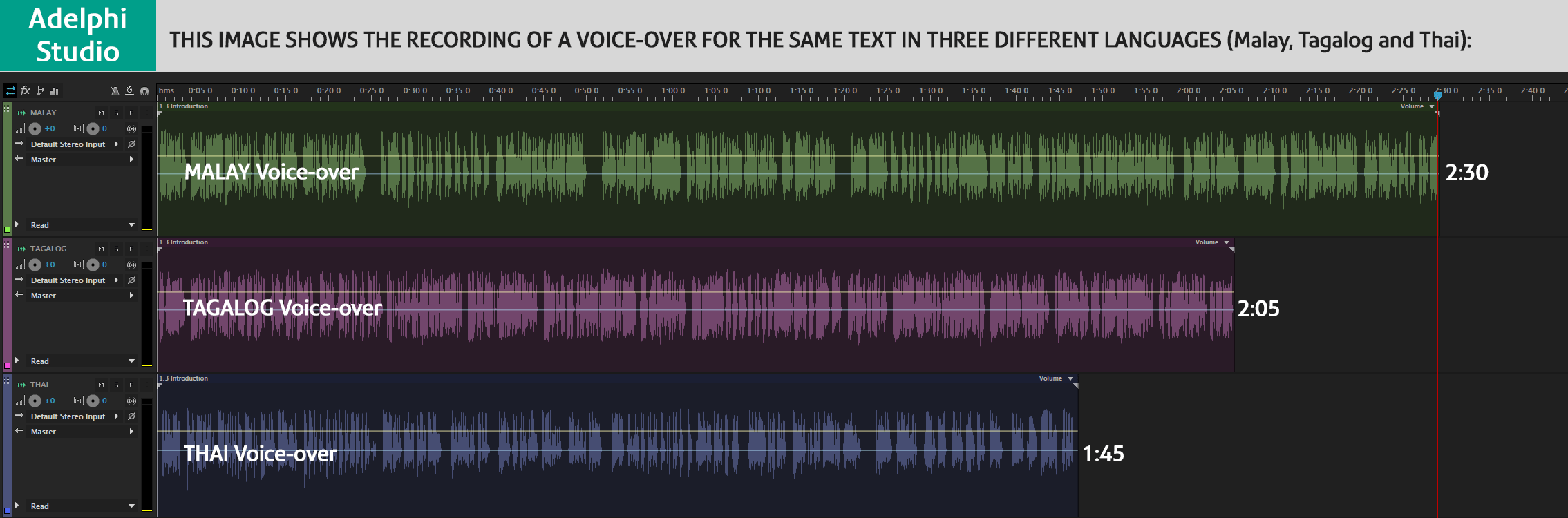 voice samples